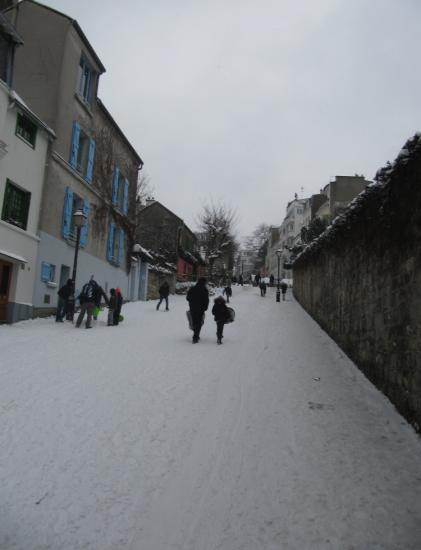 montée rue des Saules
