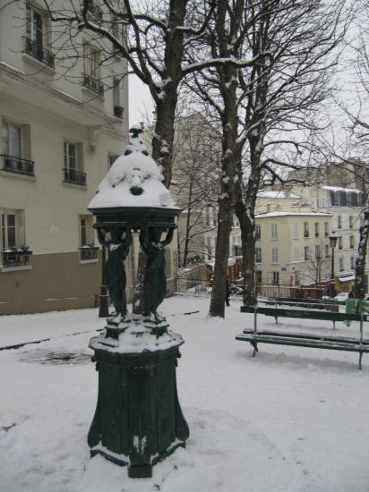 fontaine pl. Emile Goudeau