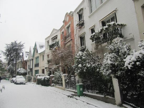 intérieur Villa Léandre neige